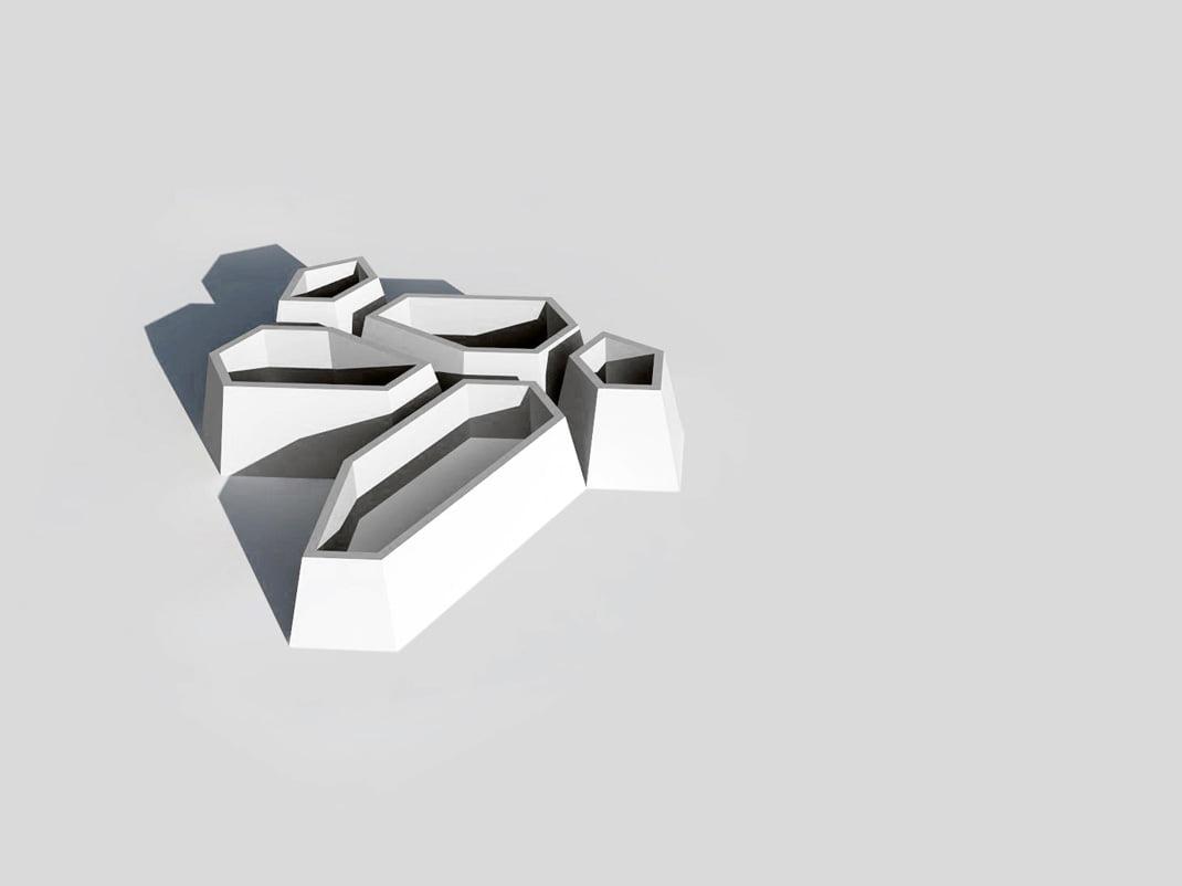 concrete vases GR 00