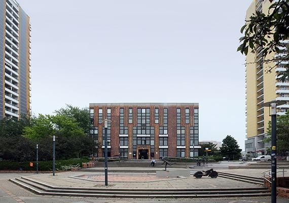 Sanierung Rathaus Marzahn